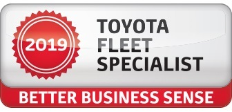 We are a Certified Toyota Fleet Specialist